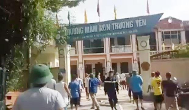 Hà Nội: Chập điện gây cháy trường mầm non - Ảnh 2.