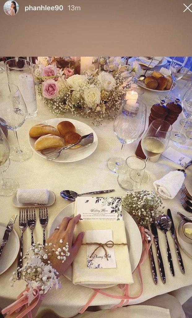 Đám cưới Phanh Lee và tổng giám đốc tập đoàn nghìn tỷ: Cô dâu xinh đẹp rạng rỡ, MC Thu Hoài - Huyền Lizzie làm phù dâu - Ảnh 10.