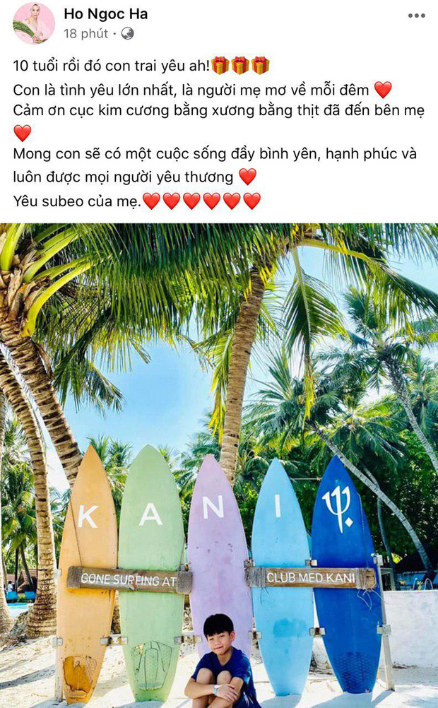 Hà Hồ khẳng định tình yêu lớn nhất là Subeo, Kim Lý lập tức có động thái gây chú ý - Ảnh 2.