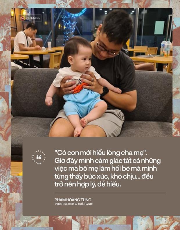 Anh thanh niên năm xưa giờ đã có vợ con rồi: Dù làm bố nhưng ký ức về bố luôn sống động, có con rồi mới hiểu lòng mẹ cha là đây - Ảnh 4.