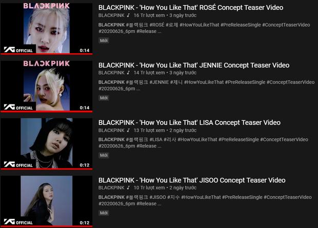 MV ON (BTS) đạt 200 triệu view mà thành tích giảm 10 lần so với kỉ lục của mình và thua MV 2017, sắp tới sẽ bị BLACKPINK cho hít khói dài dài? - Ảnh 3.