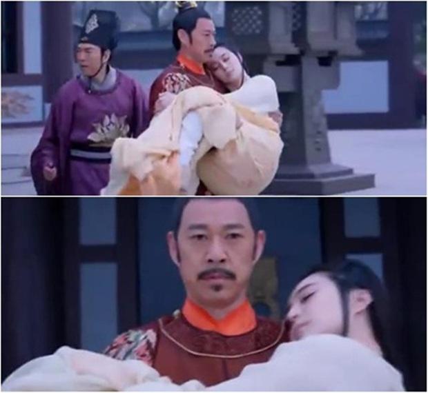 Sự thật sau cảnh anh hùng bế mỹ nhân ở phim Trung: Trần Vỹ Đình, Chung Hán Lương nhìn vậy mà yếu quá độ! - Ảnh 16.