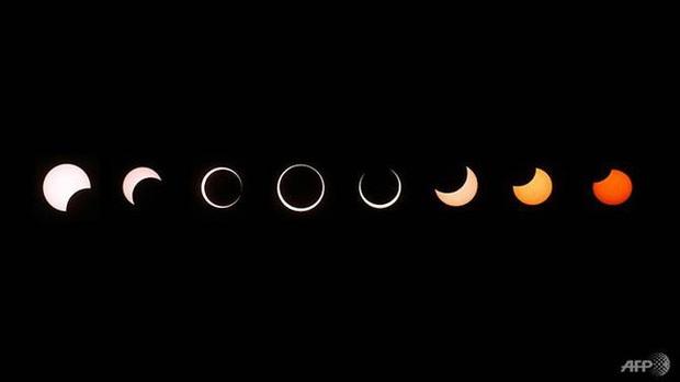 """Hiếm hoi lắm mới xuất hiện tại Việt Nam, đây là hiện tượng nhật thực """"vòng lửa"""" được dân mạng từ khắp nơi chụp lại được trong chiều nay - Ảnh 2."""