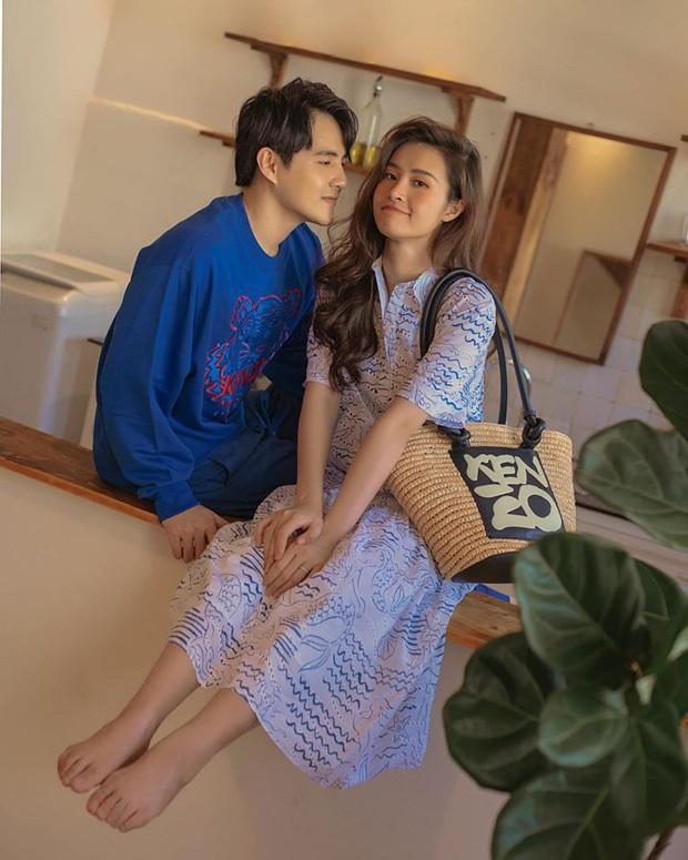 Đông Nhi tự tin diện bikini, cuối cùng đã khoe rõ ràng bụng bầu lớn bên Ông Cao Thắng ở tháng thứ 5 thai kỳ - Ảnh 3.