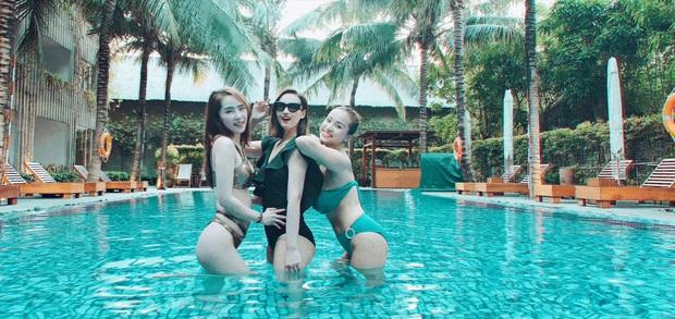 Sẵn dịp ăn cưới Phanh Lee và chồng đại gia ở resort hạng sang, hội khách mời thi nhau sáng tác bộ ảnh bikini đăng phây - Ảnh 9.
