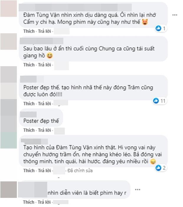 """Chung Hán Lương và Đàm Tùng Vận đẹp từ poster đến hậu trường phim mới, netizen hú hét: Ai dám chê """"chú"""" già? - Ảnh 6."""