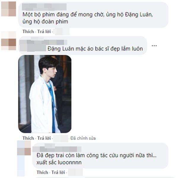 Đặng Luân mặc đồ bảo hộ kín mít đóng phim chống dịch, fan hào hứng mong chờ ngày lên sóng - Ảnh 5.