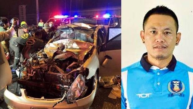 Đau lòng cựu cầu thủ Thái Lan đột ngột qua đời vì tai nạn thảm khốc: Thủ phạm bỏ trốn khỏi hiện trường, gia đình vẫn chưa hết sốc  - Ảnh 1.