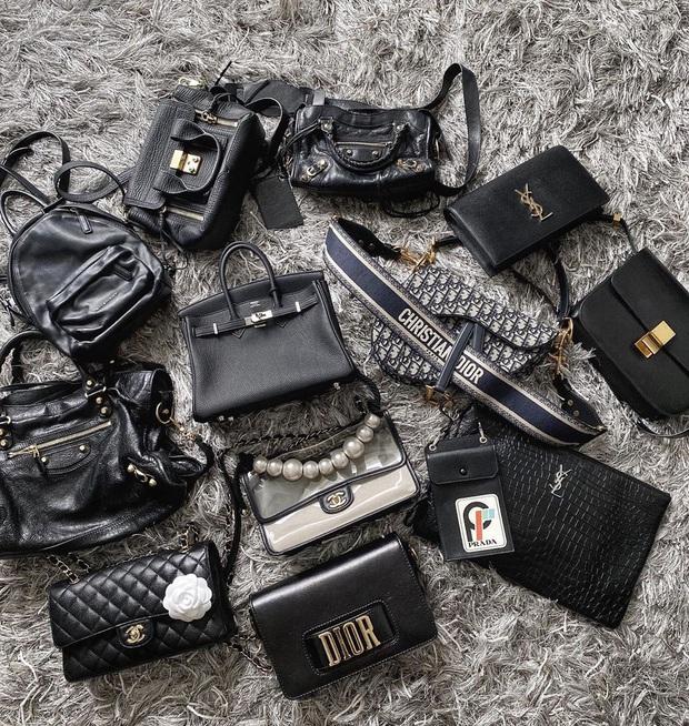 Chưa cần lên xe hoa với chồng CEO, Phương Anh đã là đại gia của chính mình với BST Chanel, Dior... nhiều không kể xiết - Ảnh 2.