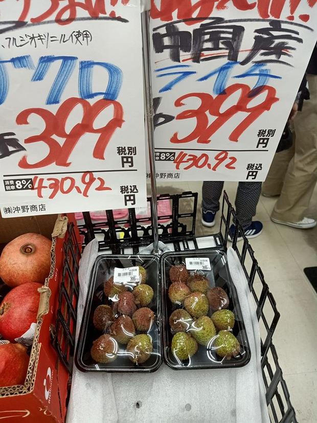 Dân mạng Việt khoe những trái vải bán trong siêu thị Nhật, 120k được mỗi 7 quả mà vẫn cháy hàng - Ảnh 3.