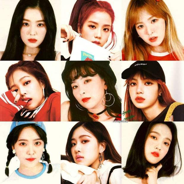 """Thêm bộ ảnh ghép của BLACKPINK và Red Velvet khiến Knet phải """"van xin"""" collab vì quá hợp, khẳng định BLACKVELVET có thật thì """"phá đảo"""" luôn Kpop - Ảnh 2."""