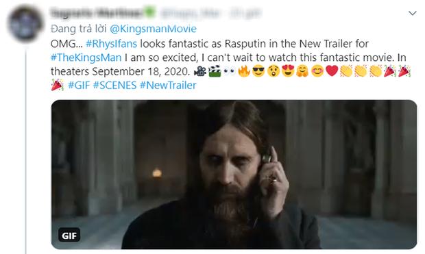 The Kings Man tung trailer đấm đá siêu ngầu, khán giả quốc tế hoang mang: Ra rạp làm sao giữa mùa dịch?  - Ảnh 14.