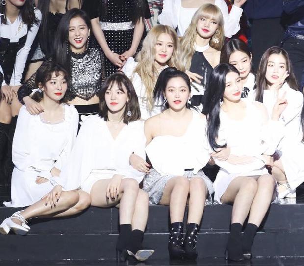 """Thêm bộ ảnh ghép của BLACKPINK và Red Velvet khiến Knet phải """"van xin"""" collab vì quá hợp, khẳng định BLACKVELVET có thật thì """"phá đảo"""" luôn Kpop - Ảnh 9."""