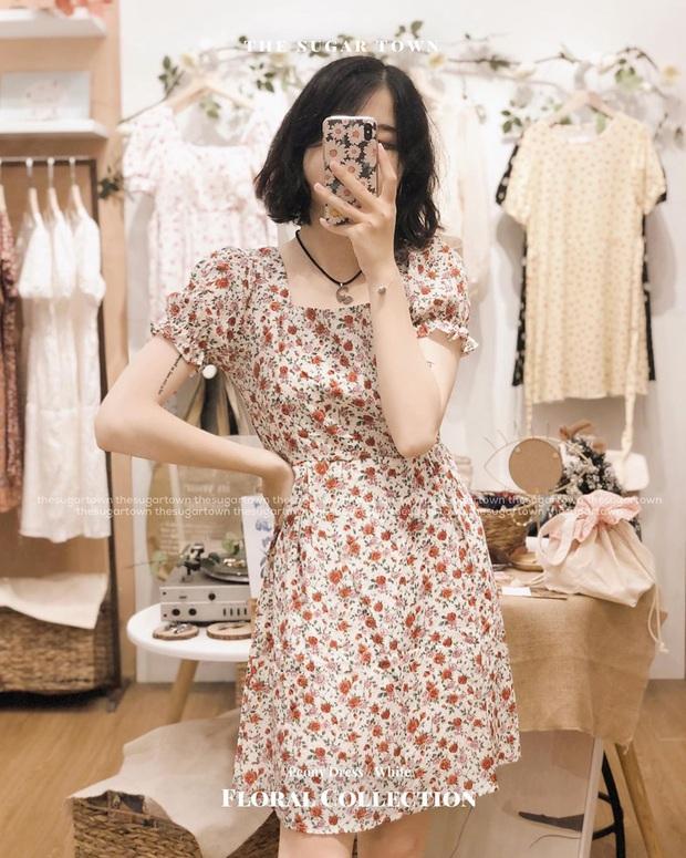 Váy hoa nhí năm nay toàn kiểu xinh quá mức quy định, xem xong 10 mẫu này là nàng nào cũng muốn quẩy ngay 1 em - Ảnh 3.