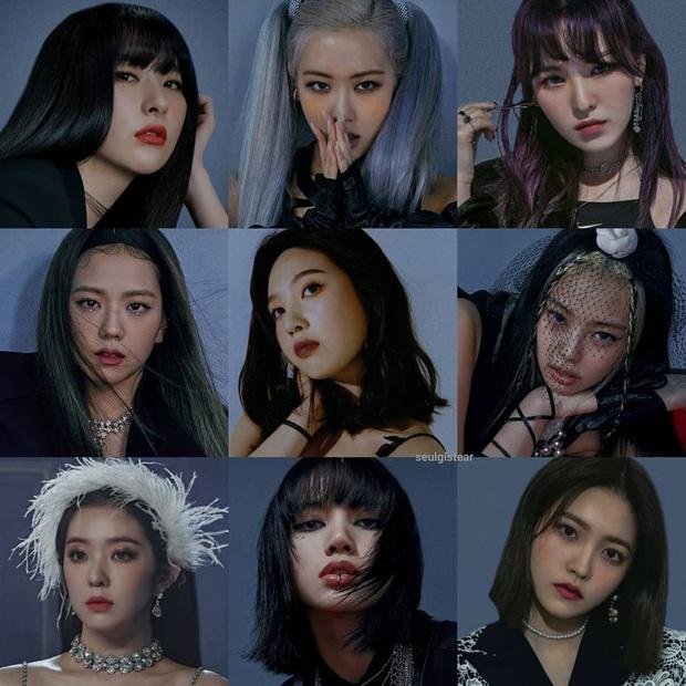 """Thêm bộ ảnh ghép của BLACKPINK và Red Velvet khiến Knet phải """"van xin"""" collab vì quá hợp, khẳng định BLACKVELVET có thật thì """"phá đảo"""" luôn Kpop - Ảnh 1."""