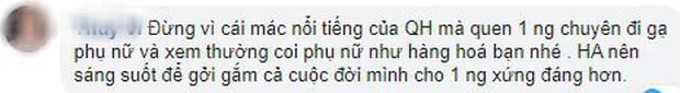 Sau scandal Quang Hải bị hack Facebook, dân mạng đồng lòng khuyên Huỳnh Anh nên có sự lựa chọn đúng đắn - Ảnh 5.