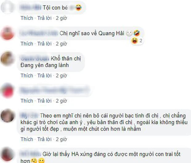 Sau scandal Quang Hải bị hack Facebook, dân mạng đồng lòng khuyên Huỳnh Anh nên có sự lựa chọn đúng đắn - Ảnh 7.