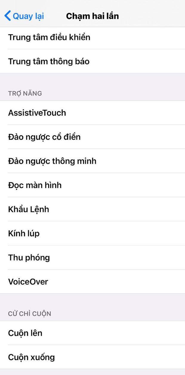 Cách bật tính năng gõ mặt lưng trên iPhone sau khi update iOS 14, rất hay ho, thú vị! - Ảnh 6.