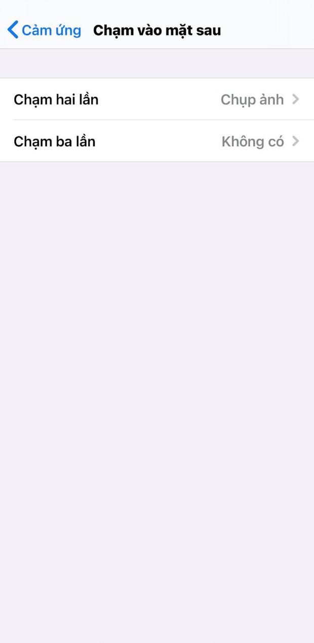 Cách bật tính năng gõ mặt lưng trên iPhone sau khi update iOS 14, rất hay ho, thú vị! - Ảnh 7.