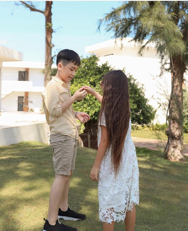 Khoảnh khắc gây sốt nhóc tỳ nhà Thu Trang và Đoan Trang: Andy ngày càng ra dáng soái ca nhí, Sol giận hờn gì thế này? - Ảnh 5.