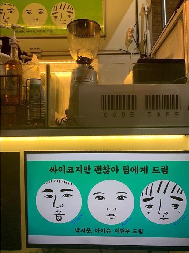 Cơ to như tài tử Kim Soo Hyun: Bộ 3 siêu sao IU, Park Seo Joon, Lee Hyun Woo kết hợp gửi quà đặc biệt đến phim trường - Ảnh 5.