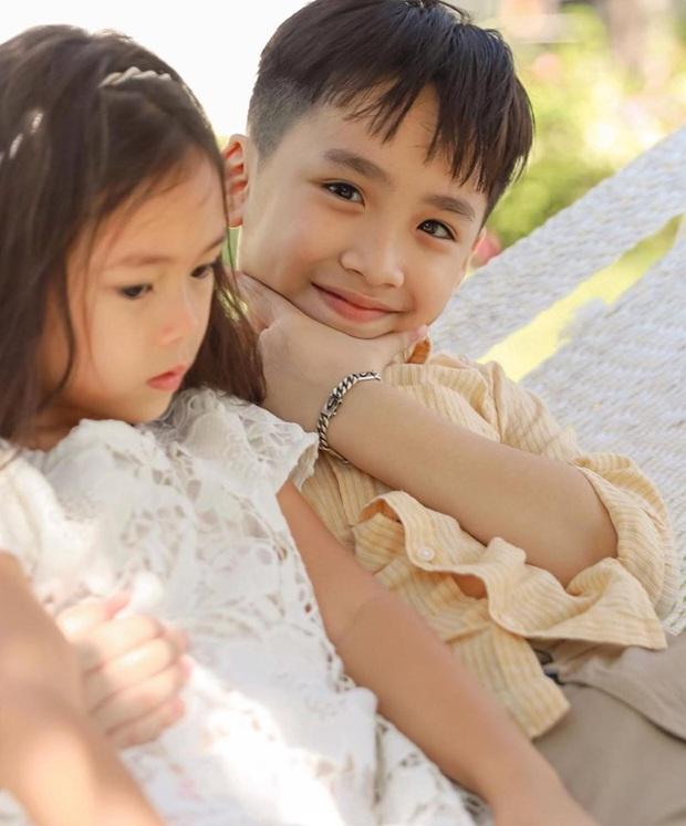 Khoảnh khắc gây sốt nhóc tỳ nhà Thu Trang và Đoan Trang: Andy ngày càng ra dáng soái ca nhí, Sol giận hờn gì thế này? - Ảnh 3.