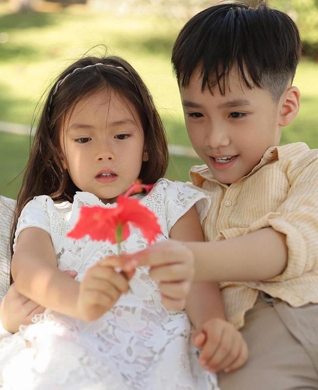 Khoảnh khắc gây sốt nhóc tỳ nhà Thu Trang và Đoan Trang: Andy ngày càng ra dáng soái ca nhí, Sol giận hờn gì thế này? - Ảnh 2.