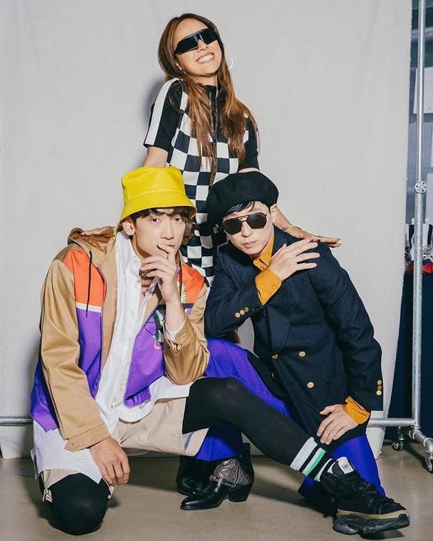 Tạm quên cơn bão BLACKPINK, bộ ba Bi Rain, Lee Hyori và Jaesuk vừa tung bộ ảnh debut căng đét, nhóm nhạc khủng long Kpop là đây chứ đâu! - Ảnh 6.