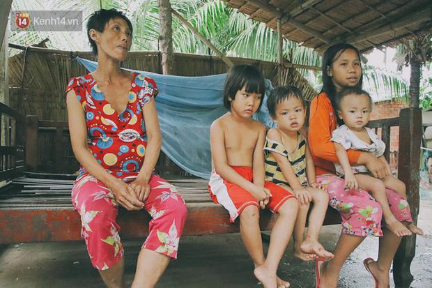 5 đứa trẻ đói ăn bên người mẹ khờ mang bụng bầu 7 tháng: Con không muốn mẹ sinh em nữa, nhà con nghèo lắm rồi - Ảnh 9.