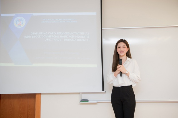 Á hậu Phương Nga khoe sắp tốt nghiệp đại học nổi bần bật, netizen lập tức dự đoán xếp hạng thành tích chỉ vì một chi tiết - Ảnh 4.