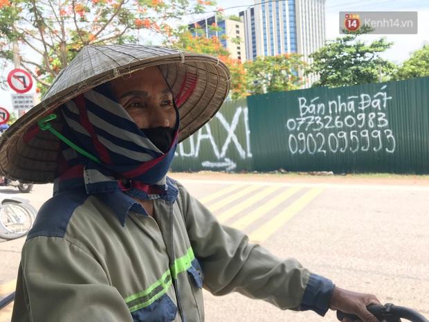 """Dân nghèo ở Hà Nội gồng mình mưu sinh dưới nắng nóng đỉnh điểm: """"Đội nắng nhặt 100 vỏ lon nhôm, bán được 15 nghìn đồng nhưng vẫn phải cố"""" - Ảnh 8."""