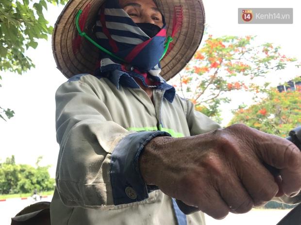 """Dân nghèo ở Hà Nội gồng mình mưu sinh dưới nắng nóng đỉnh điểm: """"Đội nắng nhặt 100 vỏ lon nhôm, bán được 15 nghìn đồng nhưng vẫn phải cố"""" - Ảnh 5."""