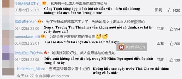 Phim mới của Băng Thần Trương Tân Thành vừa lên sóng đã bị chê tơi tả, netizen nổi điên vì diễn xuất của mỹ nhân ngư - Ảnh 12.