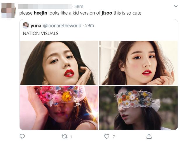 """Jisoo (BLACKPINK) gây bão vì che mặt trong teaser MV nhưng lại bị """"bóc"""" hao hao giống mỹ nhân LOONA, ai ngờ fan có phản ứng khó lường - Ảnh 8."""