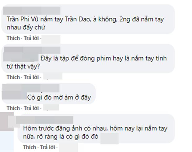 Trần Phi Vũ tình tứ với gái xinh phim trường, fan La Vân Hi kêu gào: Ơ bảo phim đam mỹ cơ mà, dỗi á! - Ảnh 6.