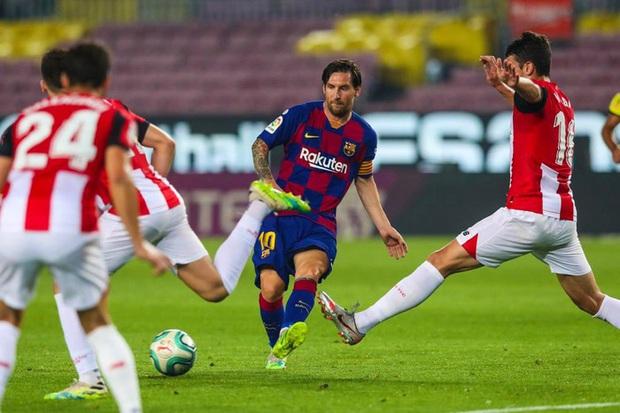 Barca thoát hiểm đầy kịch tính trong ngày sinh nhật Messi - Ảnh 1.