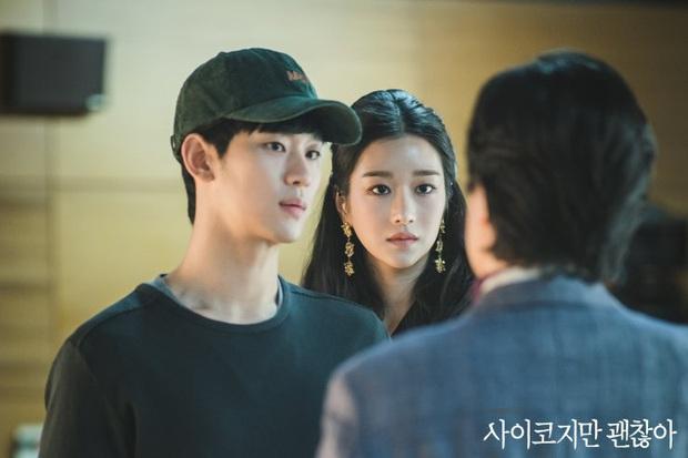 Điên Thì Có Sao: Màn tái xuất hạng kim cương siêu lạ của Kim Soo Hyun, nữ chính gây sốt đổ ngôi điên nữ trong nháy mắt - Ảnh 5.