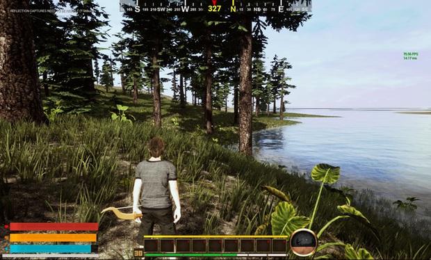 Xuất hiện game sinh tồn trên đảo hoang do năm sinh viên Đại học Hutech tự mình phát triển - Ảnh 1.
