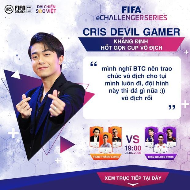 Cris Devil Gamer gáy cực khét dù phải đối đầu toàn cao thủ FIFA Online 4, Văn Toàn tuyên bố làm gỏi đàn em Tiến Linh! - Ảnh 4.