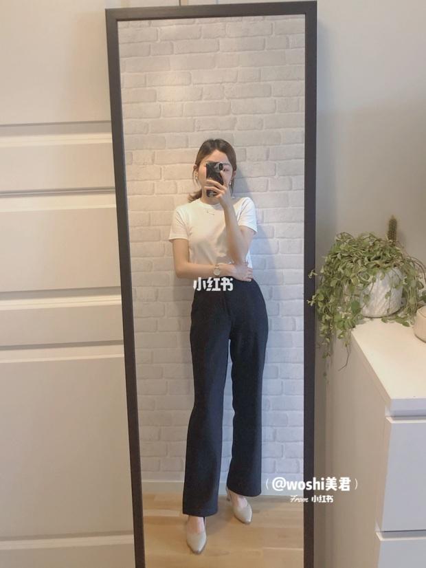 Nàng công sở cao 1m58 bật mí item tủ giúp cô trông cao ráo hơn hẳn dù thường xuyên đi giày bệt - Ảnh 2.