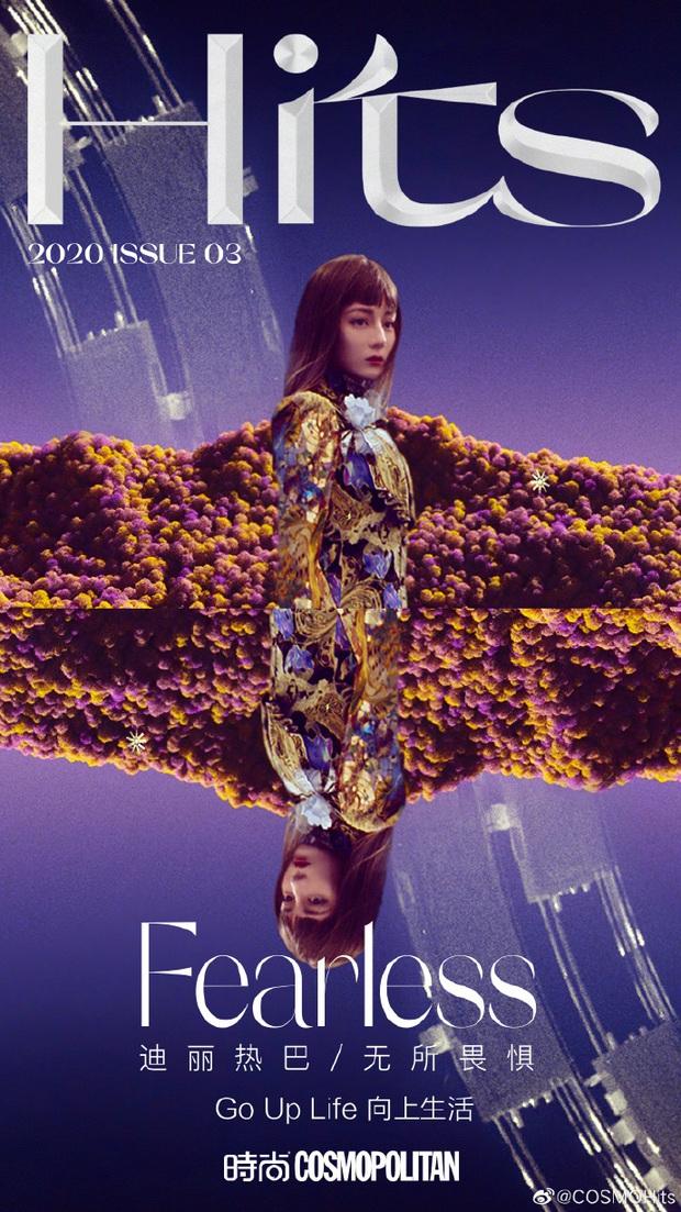Nức nở với bộ ảnh mới của Địch Lệ Nhiệt Ba: Vòng 1 căng đầy sexy bức thở, nhận cơn mưa lời khen vì lột xác bất ngờ - Ảnh 2.