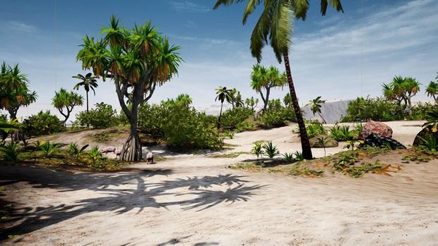 Xuất hiện game sinh tồn trên đảo hoang do năm sinh viên Đại học Hutech tự mình phát triển - Ảnh 3.