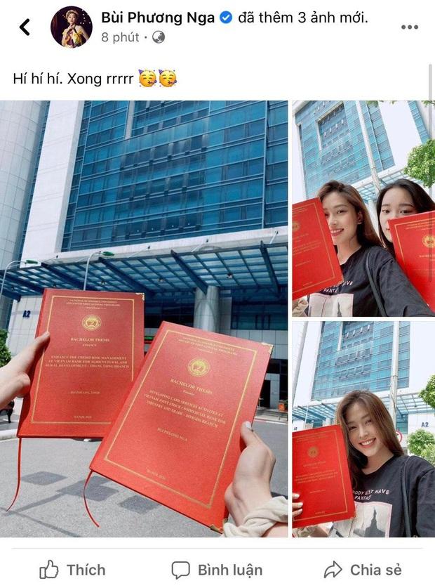Á hậu Phương Nga khoe sắp tốt nghiệp đại học nổi bần bật, netizen lập tức dự đoán xếp hạng thành tích chỉ vì một chi tiết - Ảnh 2.