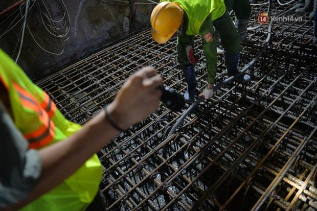 Hợp long khu vực trung chuyển ga ngầm S9 dự án đường sắt đô thị Nhổn - ga Hà Nội - Ảnh 8.