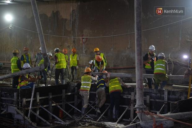 Hợp long khu vực trung chuyển ga ngầm S9 dự án đường sắt đô thị Nhổn - ga Hà Nội - Ảnh 5.