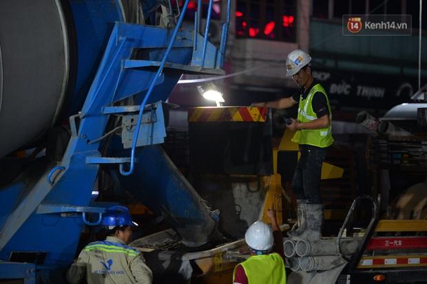 Hợp long khu vực trung chuyển ga ngầm S9 dự án đường sắt đô thị Nhổn - ga Hà Nội - Ảnh 6.