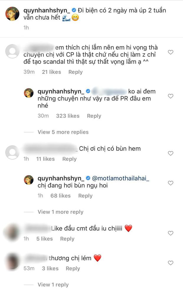 Trả lời fan về tin đồn tạo scandal với Chi Pu, Quỳnh Anh Shyn ngầm khẳng định chị em toang vì thiếu gia là thật? - Ảnh 3.