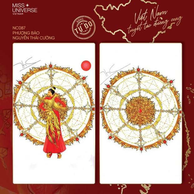 Thiết kế Quốc phục cho Khánh Vân tham dự Miss Universe 2020 bất ngờ vướng nghi vấn đạo nhái - Ảnh 2.
