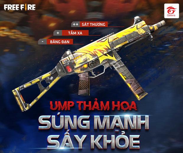 Free Fire: Game thủ Việt nhận miễn phí súng xịn UMP Thảm Họa nhờ khả năng like, share điên đảo! - Ảnh 3.