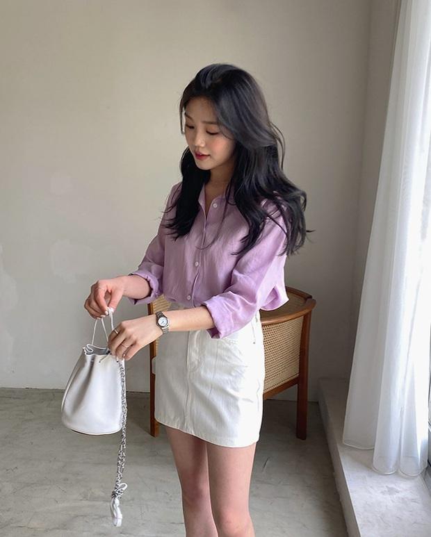 4 items kết hợp cực nuột với áo tím hot hit, chị em diện lên chỉ đẹp và sang chứ không có chuyện sến - Ảnh 12.